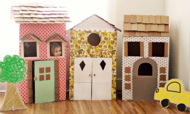Style Report: Cardboard Fun. DIY speelgoed van karton.