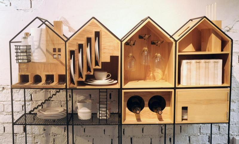 Style Report: Dinner in a Dollhouse. From Partly Cloudy Design.
