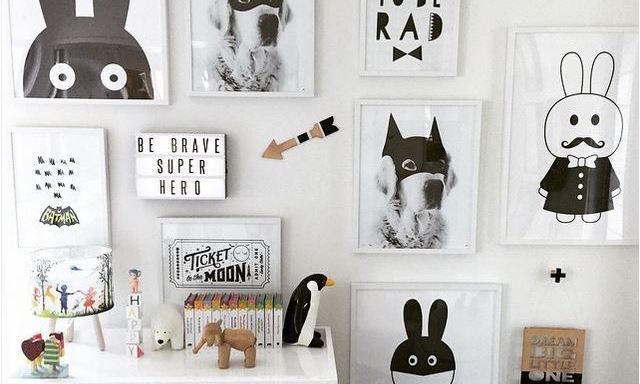 Style Report: Wall Art. Free printables voor de kinderkamer.