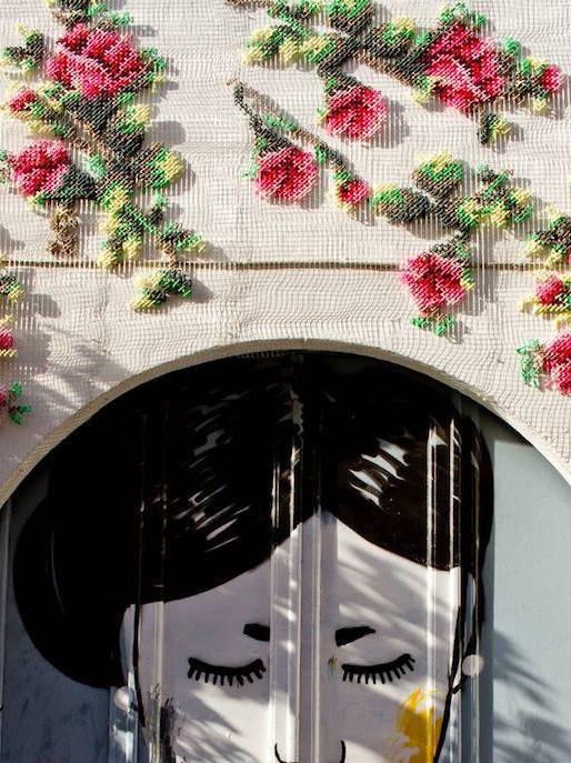 Style Report: Architecture & Needlework. Raquel Rodrigo in Madrid.