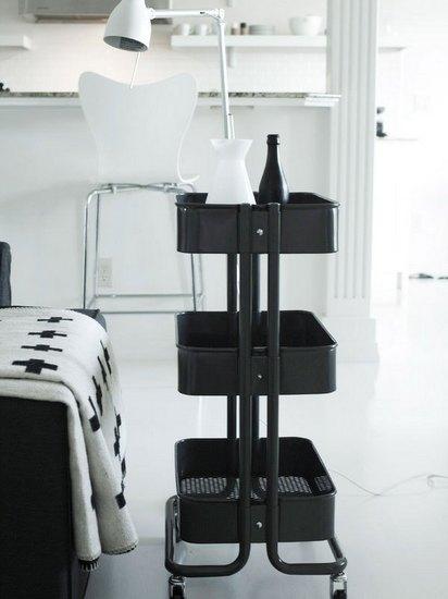 Style Report: Ikea Raskog Ideas.