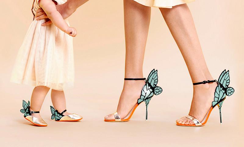 Style Report: Mommy & Me! Mooie shoenen van Sophia Webster.