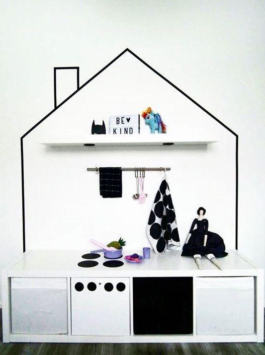 Style Report: The Washi Tape Project. Versier de kinderkamer met washi tape.