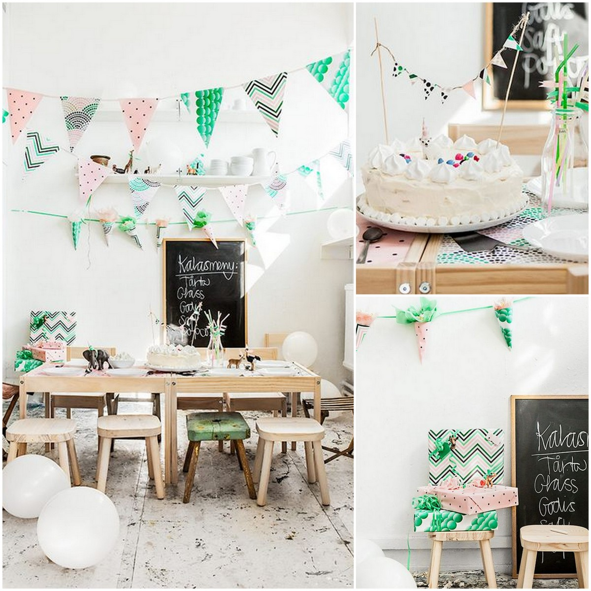 Style Report: kids party ideas. Ikea decoration.
