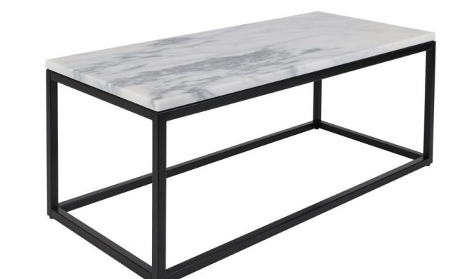 Style Report: marble sidetable from Zuiver