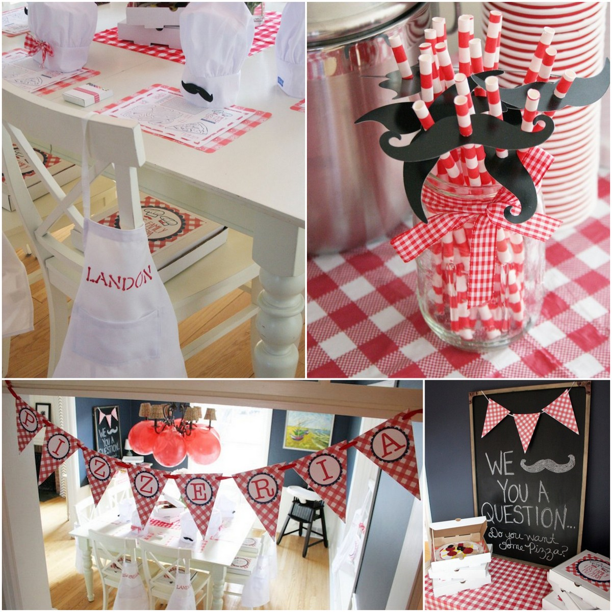 Style Report: kids party ideas. Pizza Party.