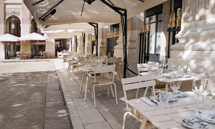 Style Report: Restaurant Du Palais Royal, Paris