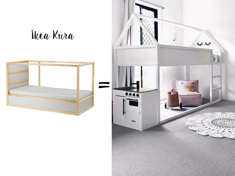 Style Report: Ikea Hack Kura Bed