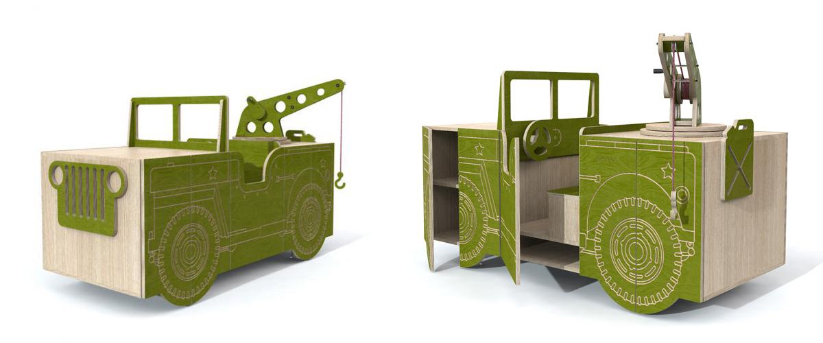 Style Report: qboo meubelen kinderkamer